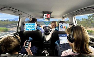 Подключение Wi-Fi в машине