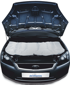 main car - Чем можно утеплить двигатель автомобиля своими руками