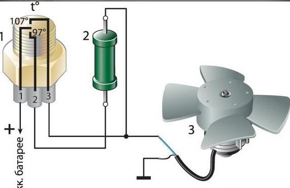 3d188es 240 - Схема подключения вентилятора охлаждения ваз 2109 инжектор