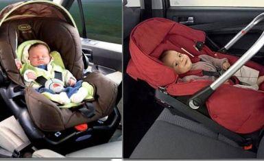 Безопасная перевозка новорожденных в авто