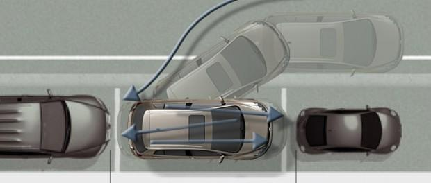 параллельная парковка техника