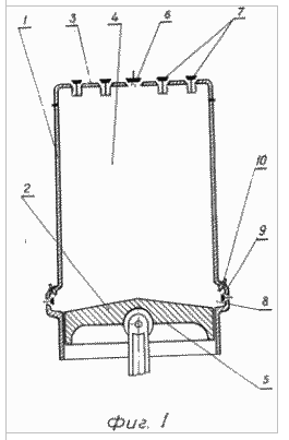 Схема устройства водородного двигателя