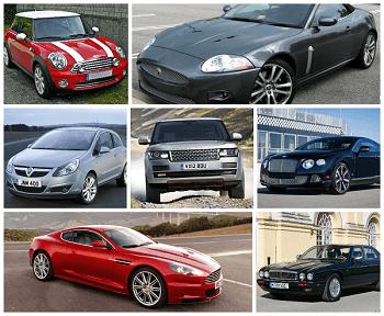 Английские автомобили