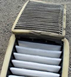 мокрый салонный фильтр