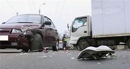 штраф за оставление песта аварии