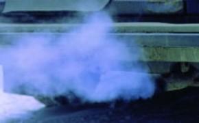 синий дым из выхлопной