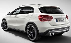 Mercedes GLA потребление бензина