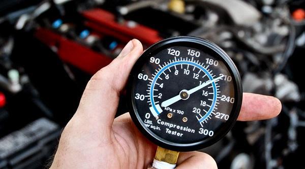 какая компрессия должна быть в двигателе