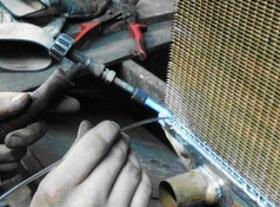 пайка радиатора своими руками