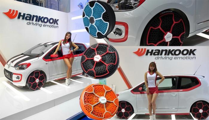 безвоздушные шины Hankook