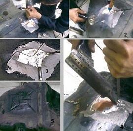 пайка алюминиевого бака