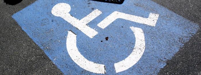 парковка для инвалидов разметка