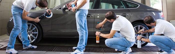 подготовить машину к продаже