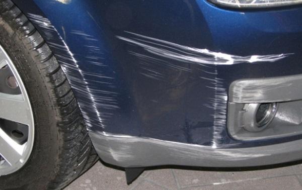 Царапина на машине как убрать