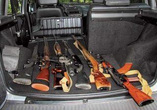 Как не нарушить закон при перевозке оружия в машине
