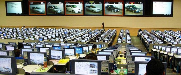 аукцион поддержаных авто Японии