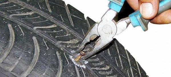 ремонт покрышки своими руками