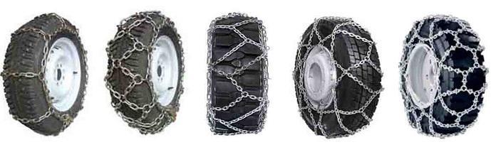 виды цепей для колес