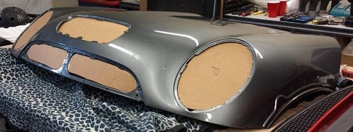 Как сделать капот из стекловолокна своими руками, изготовление