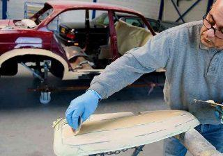 Основы шпаклевания автомобиля
