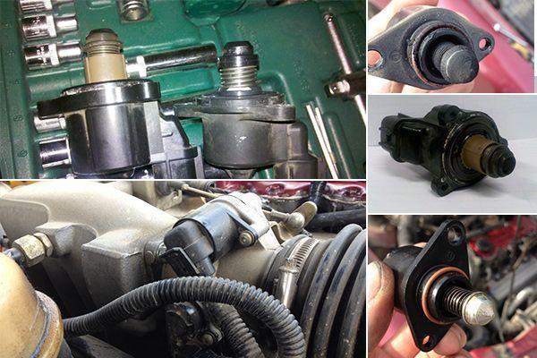 Подсос воздуха двигателем: симптомы, как проверить и найти место во впускном коллекторе, где может подсасывать