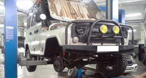 Пошаговая установка дисковых тормозов на УАЗ